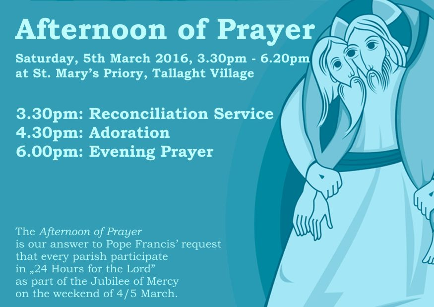 Afternoon of prayer - 5th March 2016_light
