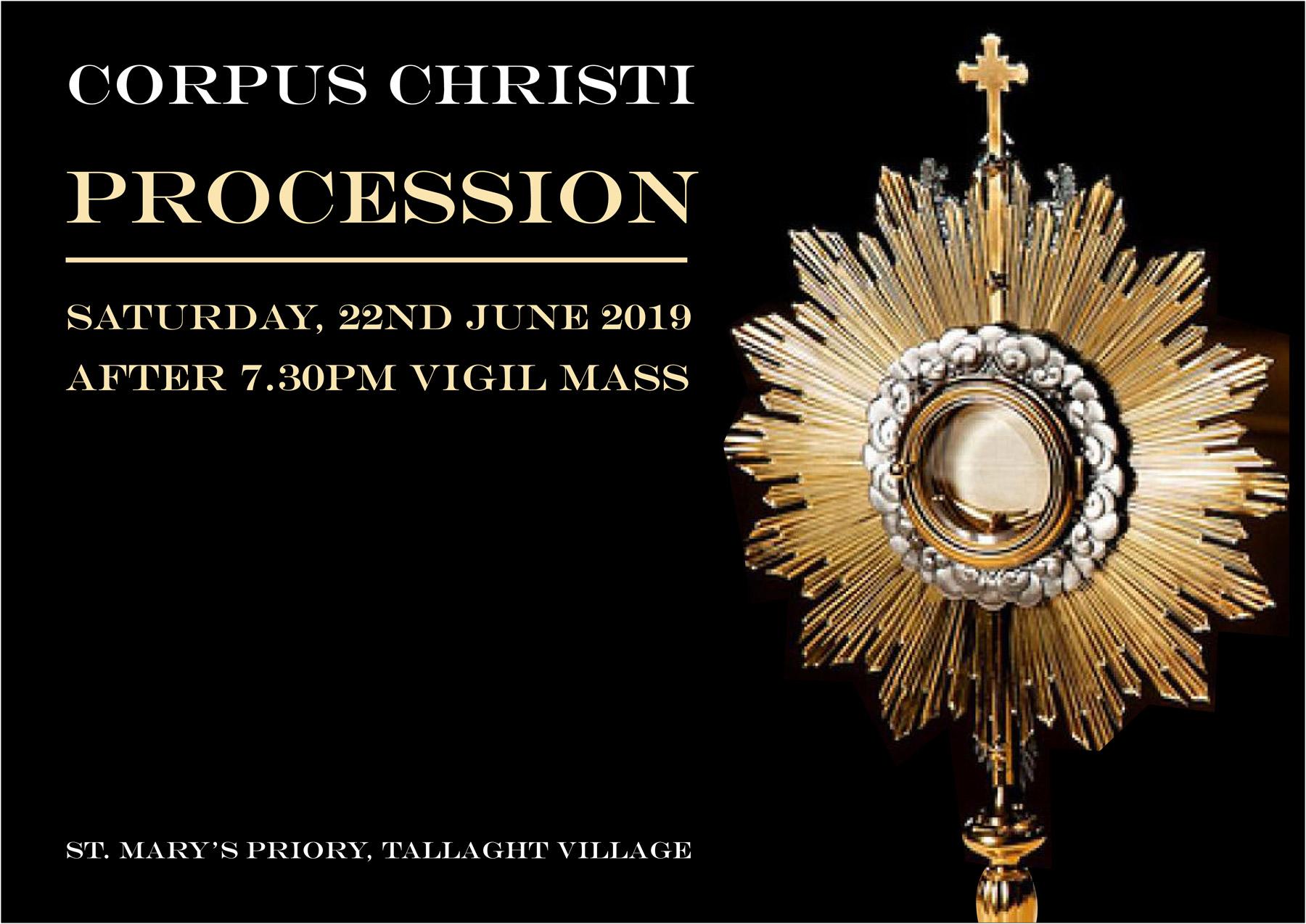 Corpus Christi Procession - poster